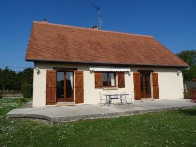 Vente d'un beau pavillon de plain pied Axe Caudebec en Caux/Bourg Achard, proche de la forêt de Brotonne, 76