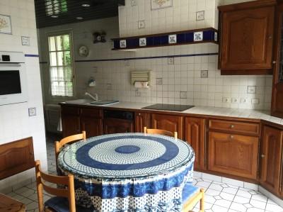 vente d'une maison de caractère, avec 4 chambres, un grand séjour avec cheminée près de Caudebec en Caux
