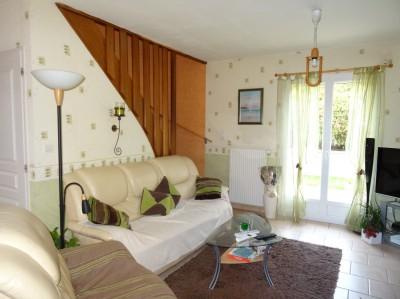 achat d'un pavillon en très bon état sur sous-sol complet à Caudebec en Caux avec 3 chambres dont une au rez de chaussée