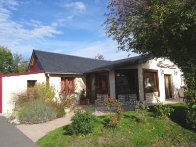 Maison de plain pied à vendre Campagne de Caudebec en Caux, dans un charmant village de la Vallée de la Seine, en Normandie