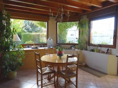 vente d'une maison en très bon état, agréable à vivre, fonctionnelle,  dans un charmant village de la vallée de la Seine
