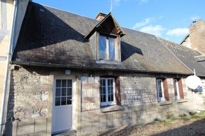 Vente d'une maison de village entièrement rénovée proche du Pont de Brotonne, Caudebec en Caux, Vallée de Seine, 76,