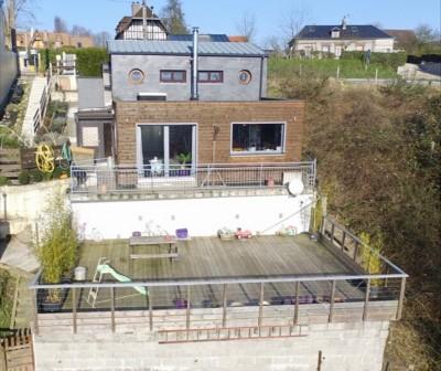 Maison contemporaine en très bon état avec vue dégagée Axe Caudebec en Caux / Nd de Gravenchon, Vallée de seine, 76