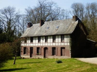 achat d'un chateau en briques et pierres en Normandie