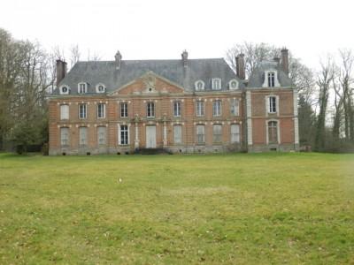 achat d'un élégant chateau XVIII en Normandie