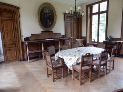 vente d'un chateau XVIII en Normandie, à 1/2h de la cote d'Albatre