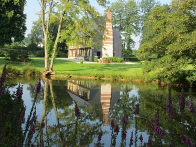 Manoir normand exceptionnel à vendre en Normandie sur 8 ha de terrain env