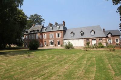 acheter un joli manoir rénové en Normandie