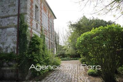 acheter un magnifique manoir  très bien restauré, en Haute Normandie, niché dans un parc paysager