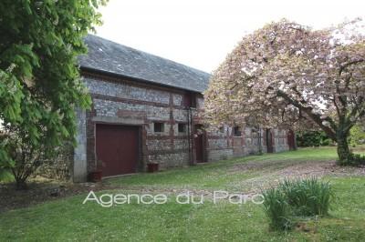 achat d'un manoir classé MH en Haute Normandie, restauré, offrant 7 chambres