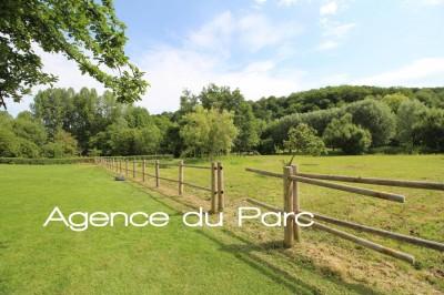 Achat d'une charmante longère en briques et silex avec une extension récente Aux environs de Caudebec en Caux, Vallée de Seine, 76, dans un bel environnement