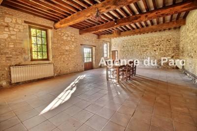 acheter une ancienne grange en pierre en Normandie, vallée de Seine, idéale pour maison de famille, chambres d'hotes