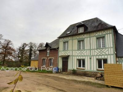 Maison ancienne à vendre Campagne d'Yvetot, 76, au coeur du Pays de Caux, axe Yvetot / Rouen