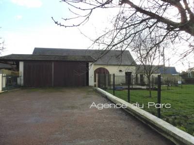 vente d'une maison de caractère du XIXème avec dépendances sur 3000 m² env de terrain campagne Caudebec en Caux
