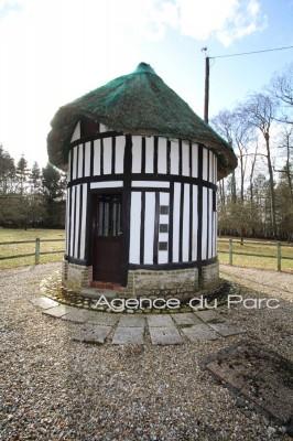 corps de ferme normand à vendre en Pays de Caux  sur 2ha5 env campagne de Caudebec en Caux