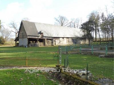 achat d'un corps de ferme au calme, sur 2ha5 env  proche de Caudebec en Caux, idéal pour chevaux, animaux,