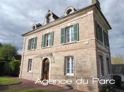 vente d'une belle maison de maître  Axe Caudebec en Caux / Bourg Achard, Parc de Brotonne, 76