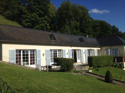 Location d'une maison de plain pied proche de Caudebec en Caux,  Vallée de Seine,  76, entre Rouen et Le Havre