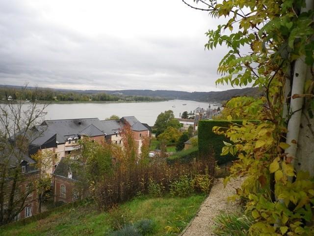 Maison individuelle Haute Normandie, 76, Pays de Caux, Vallée de Seine,  entre Rouen et Le Havre,    Proche Pont de Brotonne vue panoramique sur la Seine