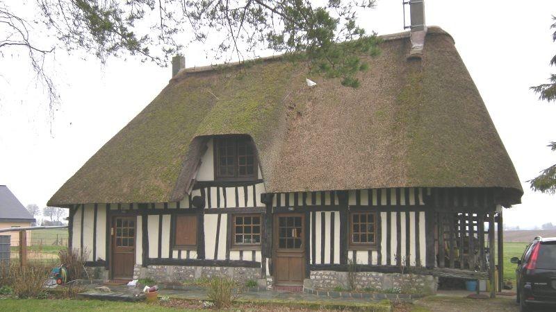 Chaumière Haute Normandie, 76, Pays de Caux, à 30 mn de Rouen, proche de la mer et de la ville à la campagne