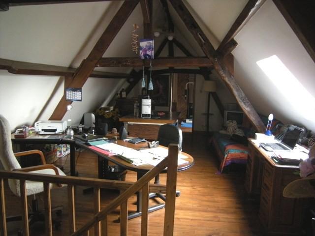 Longère normande Haute Normandie, 76, Pays de Caux, entre Caudebec en Caux et Yvetot, dans un village avec écoles et ramassages scolaires entièrement rénovée