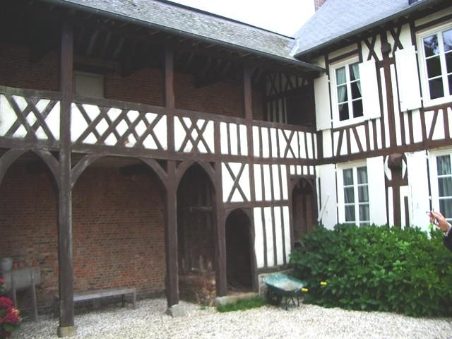 vente d'une maison ancienne à colombages