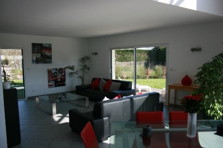 Maison d'architecte récente à vendre Axe Caudebec en Caux / Rouen, Vallée de Seine, 76, secteur recherché
