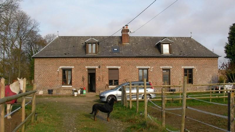 Corps de ferme à vendre entre Rouen et la côte, 76, Pays de Caux, à proximité d'Yvetot sur 1,95 hectares