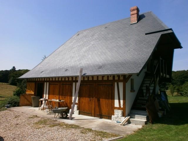 maison normande à acheter près de la forêt de Brotonne