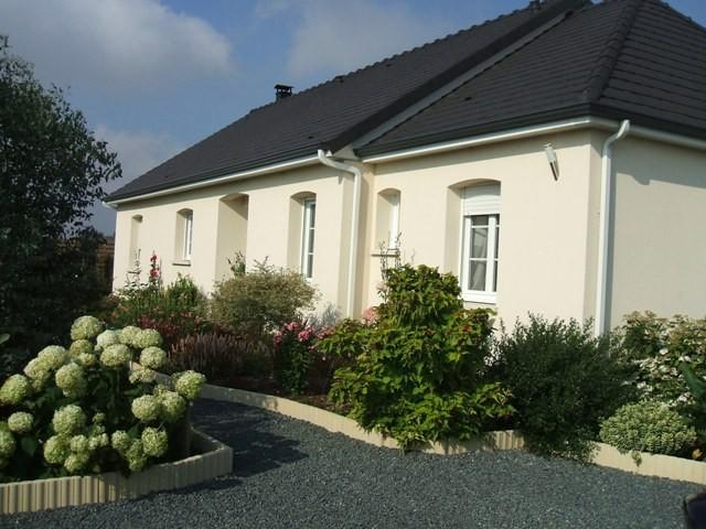vente d'une maison de plain pied campagne Caudebec