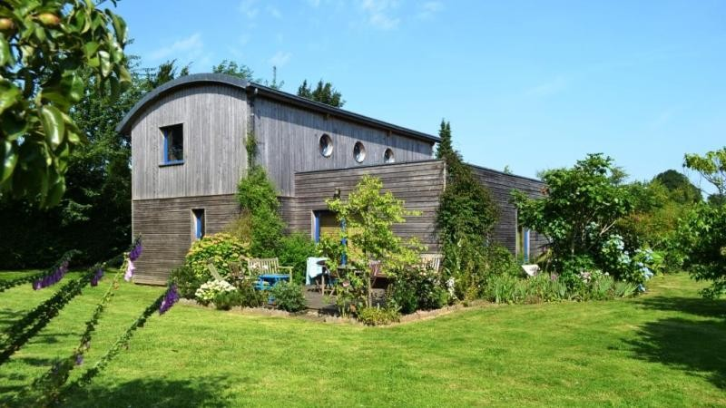 Cuisine Moderne Laquee : Maison contemporaine à ossature bois à vendre Campagne de Caudebec
