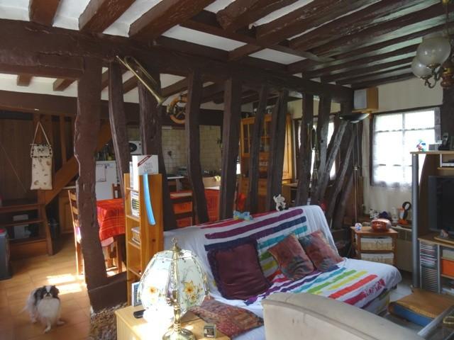 maison à colombages en vente en vallée de Seine