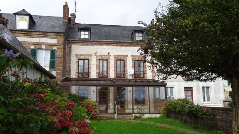 Vente d'une maison acienne en briques et pierres avec vue sur Seine proche de Caudebec en Caux, 76,