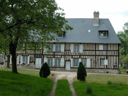 Ferme Roulleau proche de Caudebec en Caux,  Vallée de Seine,  76, dans un environnement préservé